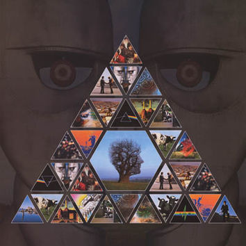 Pink Floyd Album Covers Pyramid Poster 24x36