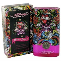 Hearts & Daggers for Women by Ed Hardy Eau de Parfum Spray 3.4 oz