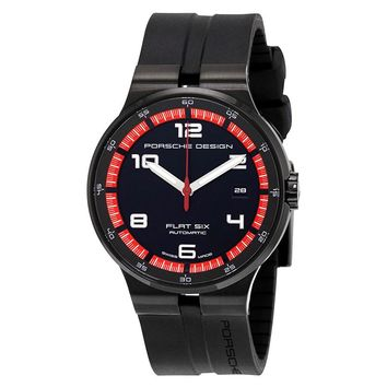 Porsche Design Flat Six Automatic Mens Sports Watch 6351.43.44.1254
