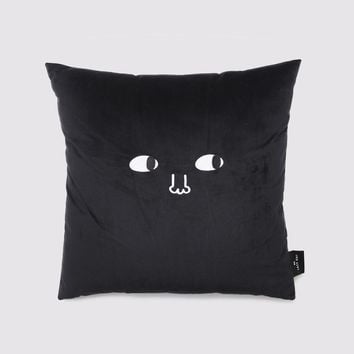 Lazy Oaf Leave Me Alone Cushion - Black