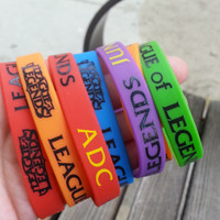 Pre order-League of Legends Silicone bracelet