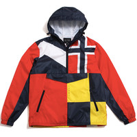 Galeforce Pullover Jacket Navy