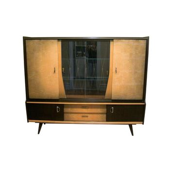 Pre-owned Mid-Century German Shrunk Cabinet
