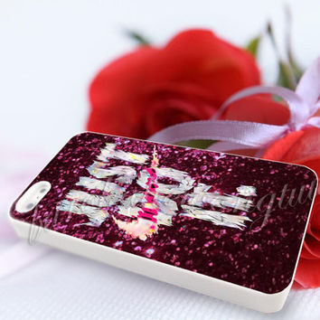 nike just do it colorful Sparkly Glitter - For iPhone 4/4s, iPhone 5/5S/5C, Samsung S3 i9300, Samsung S4 i9500 Hard Case
