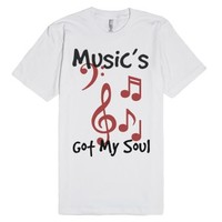 Music Shirt-Unisex White T-Shirt