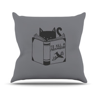 "Tobe Fonseca ""To Kill A Mockingbird"" Throw Pillow, 20"" x 20"" - Outlet Item"