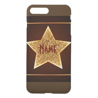Gold Star iPhone 8 Plus/7 Plus Case