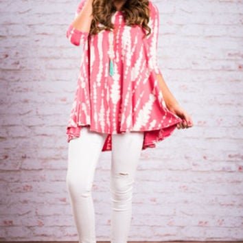 Made For Madrid Tunic, Pink