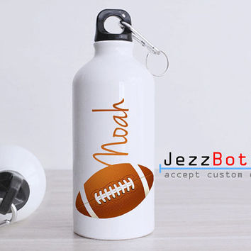 Personalized American Football Ball - Bottle Sport - Custom Water Bottle -  Club Bottle Sport - Include Name