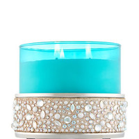 GEMS & AMP; GLITTER3-Wick Candle Sleeve