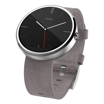 Horween Leather Smart Timepiece by Motorola Moto