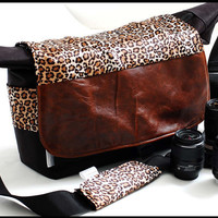 Funky fashion XL DSLR Camera and Laptop Travel Bag by sizzlestrapz