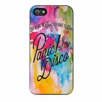 panic at the disco watercolor cases for iphone se 5 5s 5c 4 4s 6 6s plus