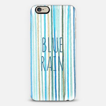 Blue Rain #2 iPhone 6 case by sy.hong | Casetify