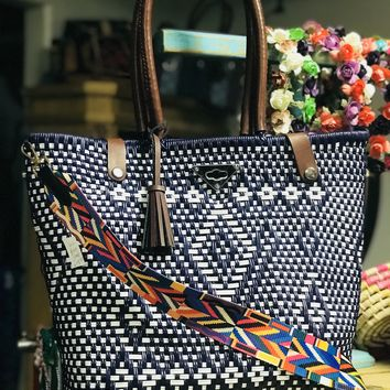 Mexican Handwoven Tote Marina