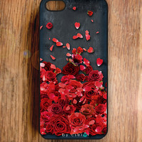 Valentines Gifts - Rose Petals - Accessories for iPhone, iPhone Case, Floral iPhone Case, iPhone 4 Case,