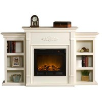 Heatherton TV Stand With Electric Fireplace