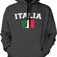 ITALIA Country Sweatshirt, Italian Pride, Italy Flag. International Italian Flag, Inexpensive, Trendy & Funny Hoodies ITA-02_2tonehood