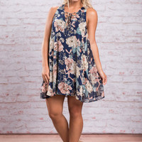 All About Love Dress, Navy