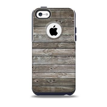 The Rough Wooden Planks V4 Skin for the iPhone 5c OtterBox Commuter Case