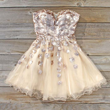 Spool Couture Golden Goddess Dress