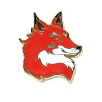 Red Fox Pin