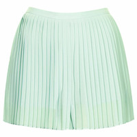 MINT SOFT PLEAT SHORTS