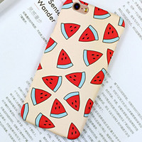 Non-slip Watermelon iPhone 6 6s iPhone 6 6s Plus Case Originality Cover + Gift Box 420
