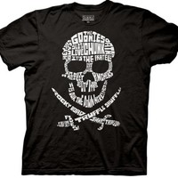 Mens The Goonies Quote Skull T-shirt