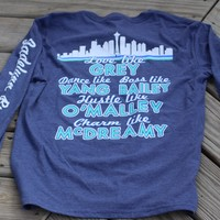 Jadelynn Brooke You Are My Person -Blue Heather - Long Sleeve