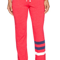 SUNDRY Classic Sweatpant in Red