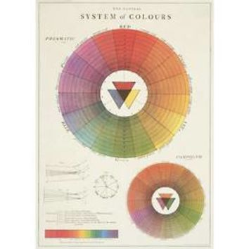 "Color Wheel 20""x28"" Sheet"