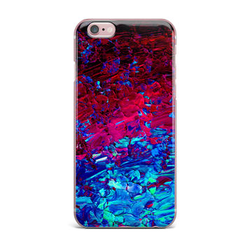 "Ebi Emporium ""Eternal Tide"" Red Blue iPhone Case"