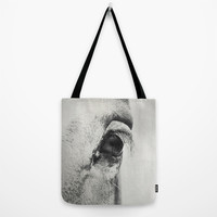 HorSe (V2 grey) Tote Bag by LilaVert | Society6