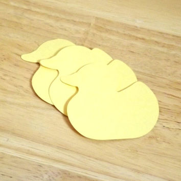 Duck Tags; Bulk 50 Heavy Cardstock Rubber Duckie Gift Tags; Baby Showers or 1st Birthdays, Personalized Custom