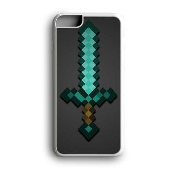 Awesome Black Friday Offer Minecraft Green Mint Sword iPhone Case | Samsung Case
