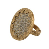 House of Harlow 1960 Jewelry Medium Sunburst Cocktail Ring