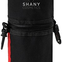 SHANY Cosmetics Urban Gal Collection Brush Kit (15 Piece Vegan Travel Brushes with Carry On Case),...
