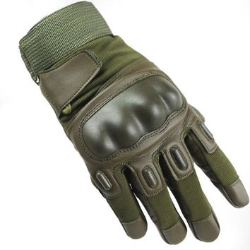 Army Gear Tactical Gloves Men Full Finger SWAT Combat Military Gloves Outdoor Climbing Bicycle Slip-resistant Durable Gloves