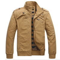 New Arrival Fashion Men Autumn&Winter Style Cotton Jacket Coat Handsome Casual Wear Y00132