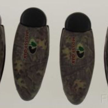 Lot 6 Mossy Oak Camo Sun Visor Clip Holder Sunglasses Eyeglasses Reading Glasses