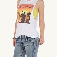 Lion King High Low Muscle Tank