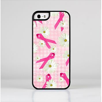 The Pink Ribbon Collage Breast Cancer Awareness Skin-Sert Case for the Apple iPhone 5/5s