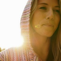 Mexican Threads| Pink Rainbow Baja Hoodie Drug Rug | Mexican Threads
