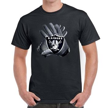 Las Vegas Raiders  Gloves Shirt Raider Nation Oakland - SM -