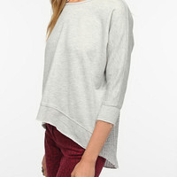 Urban Outfitters - Pins and Needles Sweater-Back Sweatshirt