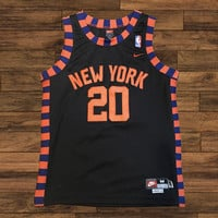 Allan Houston Vintage Knicks Jersey