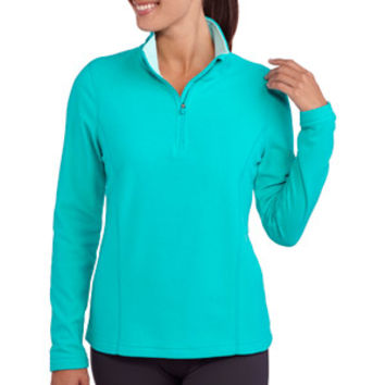 Walmart: Danskin Now Women's 1/4 Zip Microfleece Pullover