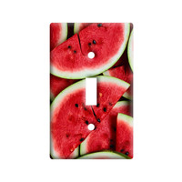 Watermelon Light Switch Plate Cover