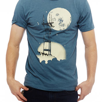 Sutro Tower Tee [Glow in the Dark]